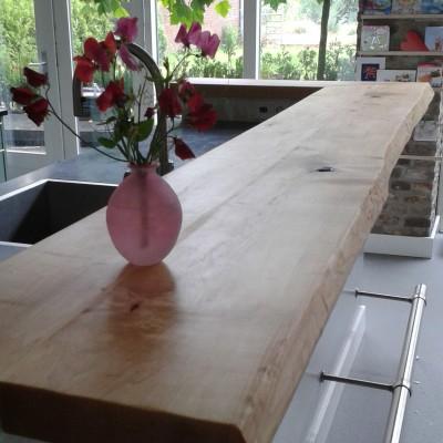 Landelijke keuken bar door Paul Meubelen