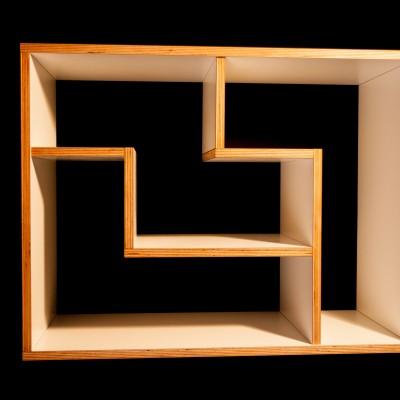 Tetris wandmeubel